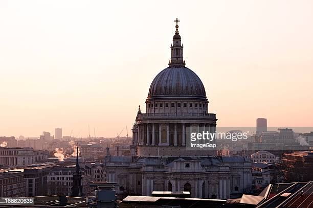 St.Pauls Cathedral Sunset