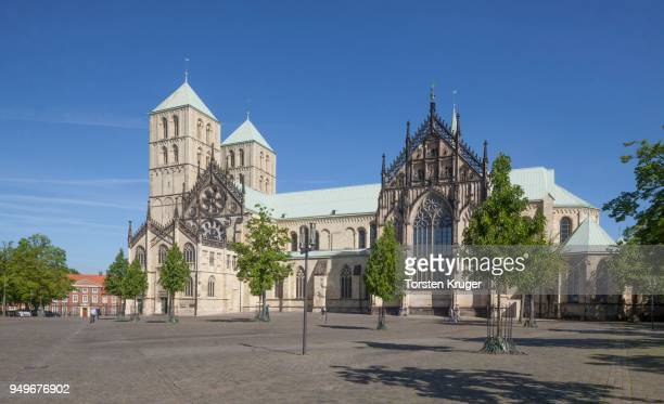 St.Paulus-Dom, Cathedral Square, Muenster, North Rhine-Westphalia, Germany