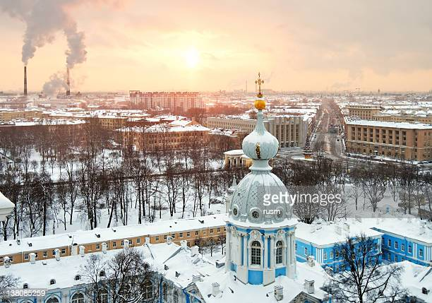 St.Petersburg winter cityscape, Russia