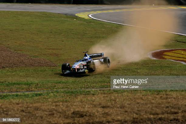 Stéphane Sarrazin, Minardi-Ford M01, Grand Prix of Brazil, Autodromo Jose Carlos Pace, Interlagos, Sao Paolo, 04 November 1999. Stephane Sarrazin...