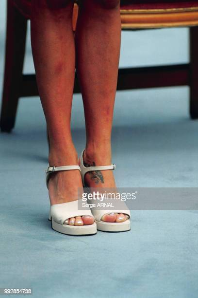 Stéphanie de Monaco assiste à l'inauguration du Grimaldi Forum le 20 juillet 2000 à Monaco