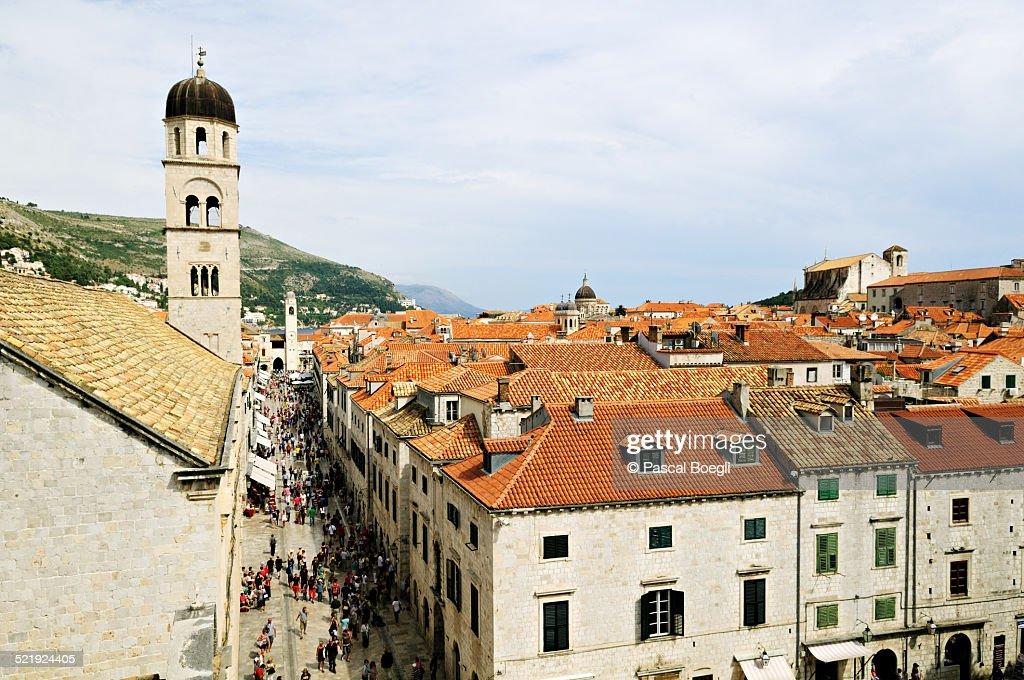 Stradun, Dubrovnik : Stock Photo
