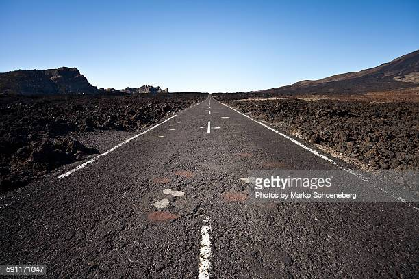 Straße zum Horizont