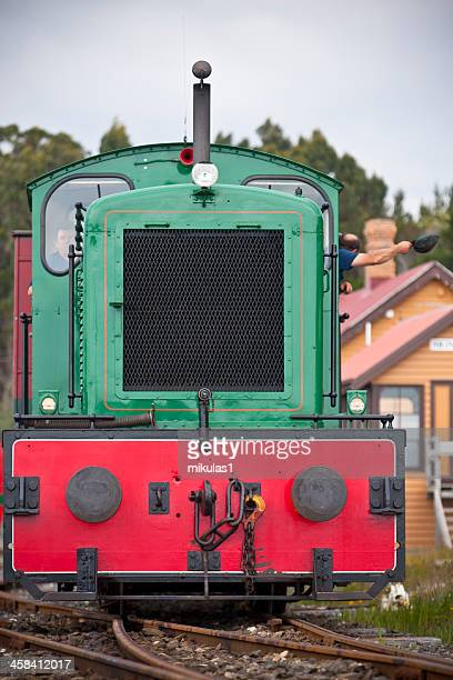 strahen diesel locomotive - cowcatcher stock pictures, royalty-free photos & images