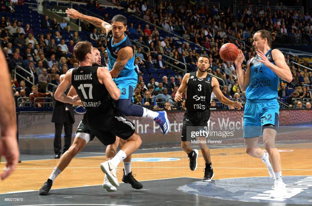 Alba Berlin v BC Partizan Belgrad - EuroCup
