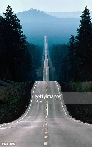 straight road - eternity stock pictures, royalty-free photos & images