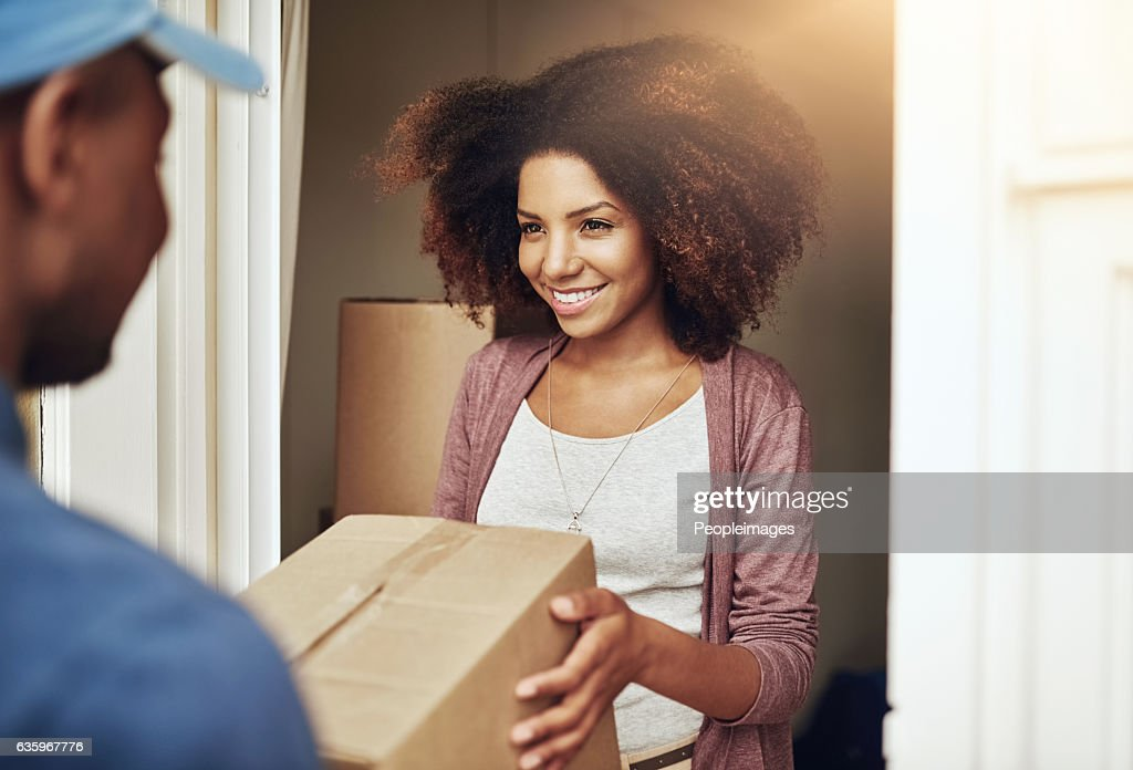 Straight to your door : Stock Photo