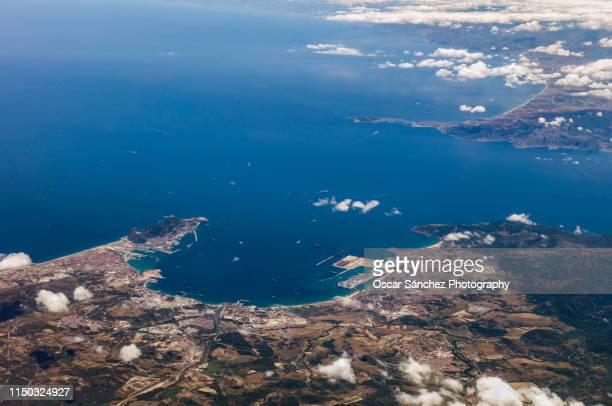 Strait of Gibraltar, aerial view