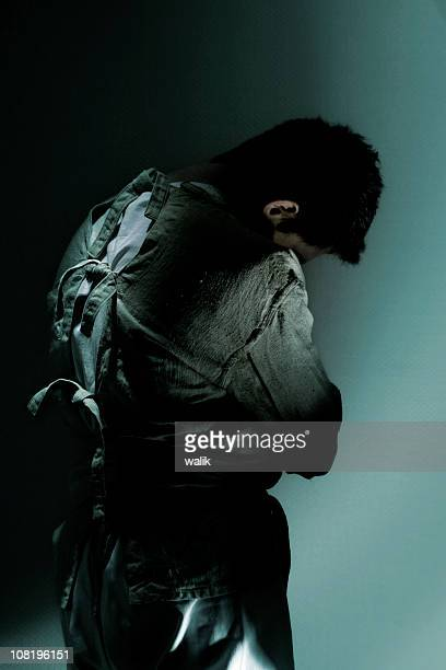 straitjacket - straight jacket stock pictures, royalty-free photos & images