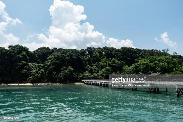 Straits of Singapore and Labrador Nature Reserve in Singapore