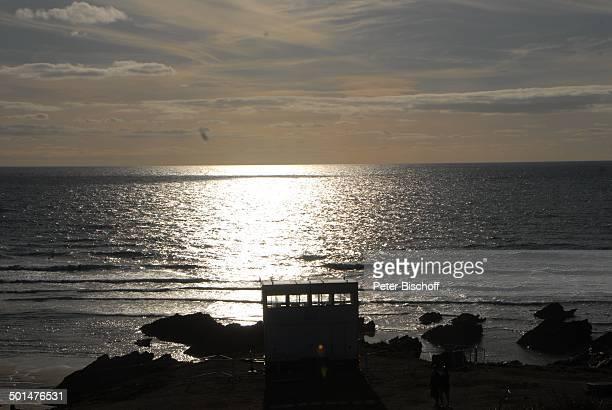 Strand Newquay Bay Newquay Cornwall England / Großbritannien Europa Felsen Meer Reise BB DIG PNr 1250/2011