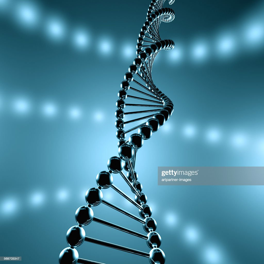 Strand of dna : Stock Photo