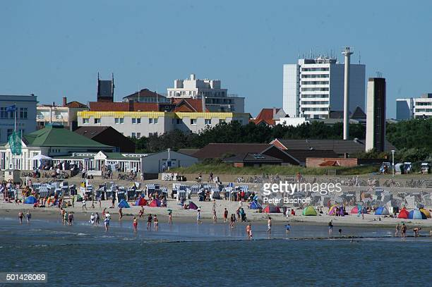Strand Ostfriesische NordseeInsel Norderney Niedersachsen Deutschland Europa Reise BB DIG PNr 1553/2007