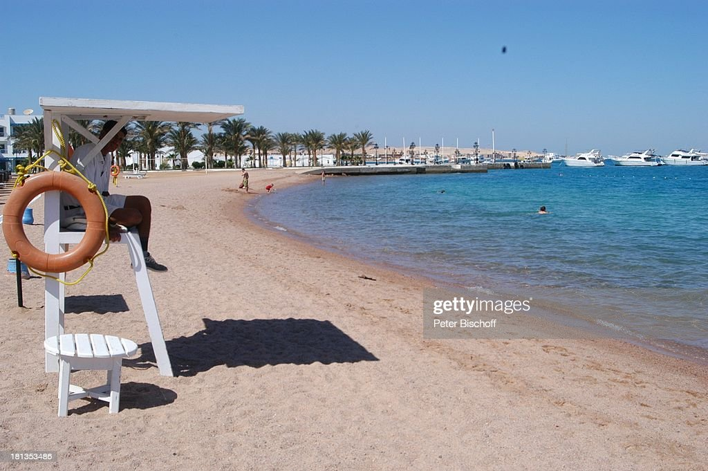 Strand The Grand Hotel Hurghada Agypten Afrika Rotes Meer