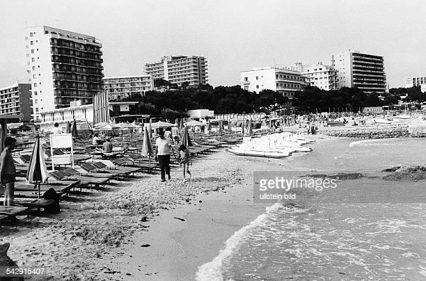 Strand von Palma Nova / Magaluf 1973