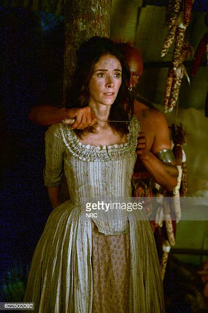 TIMELESS 'Stranded' Episode 106 Pictured Abigail Spencer as Lucy Preston
