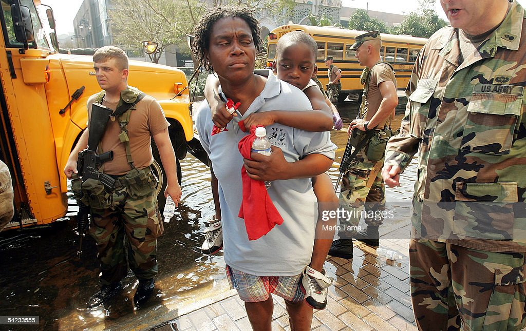 Evacuations Ordered As Conditions In New Orleans Deteriorate : News Photo