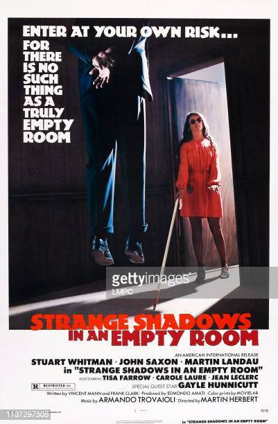 Strange Shadows In An Empty Room, poster, , US poster, Tisa Farrow, 1976.