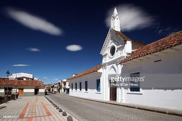 Strange sky over Cuenca