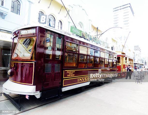 CONTENT] Strangely this Invercargill cable car is now a tram in Christchurch New Zealand The tram behind was built in 1904 After the earthquakes the...