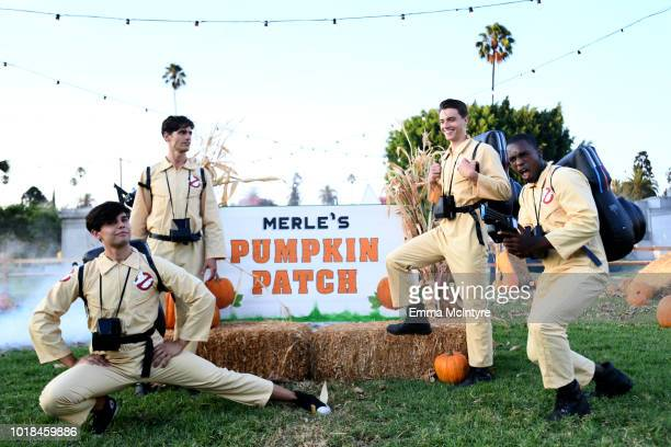 """Stranger Things 2 Brand Ambassadors at Netflix's """"Stranger Things"""" Celebrates 12 Emmy Nominations at Hollywood Forever on August 17, 2018 in..."""