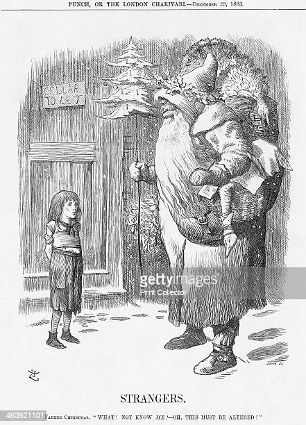 'Strangers' 1883 Father Christmas visits the slums of London to find the little girl does not know him The continuing concern over the plight of the...