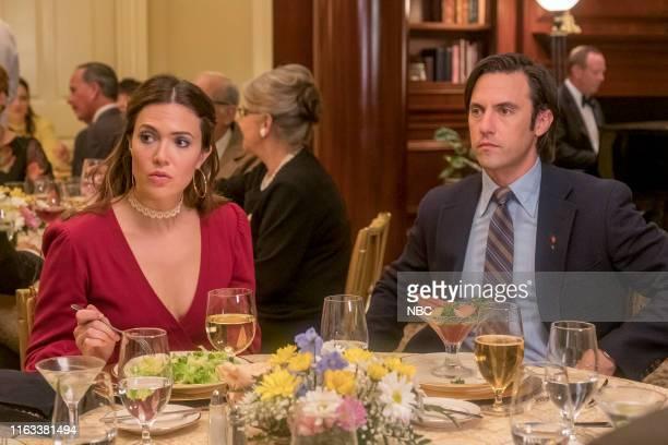 "Strangers"" Episode 401 -- Pictured: Mandy Moore as Rebecca, Milo Ventimiglia as Jack --"