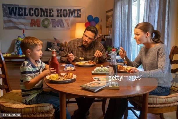 "Strangers"" Episode 401 -- Pictured: Nick Wechsler as Ryan, Jennifer Morrison as Cassidy --"