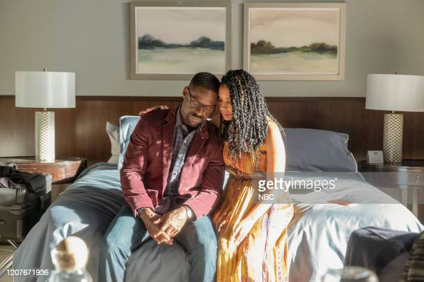 """Strangers: Part Two"""" Episode 418 -- Pictured: Sterling K. Brown as Randall, Susan Kelechi Watson as Beth --"""