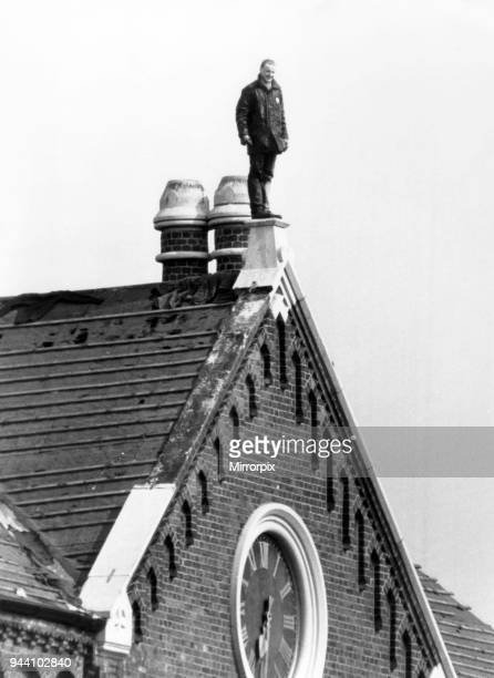 Strangeways Prison Riot April 1990 Man on rooftop A 25day prison riot and rooftop protest at Strangeways Prison in Manchester England The riot began...