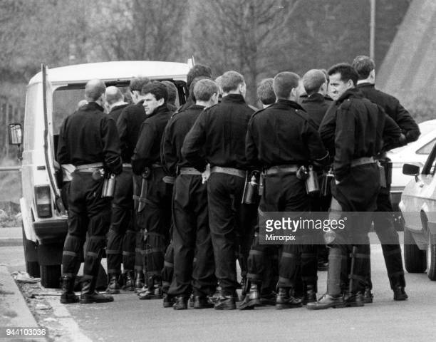 Strangeways Prison Riot April 1990 Tag Officers line up for food and drink A 25day prison riot and rooftop protest at Strangeways Prison in...