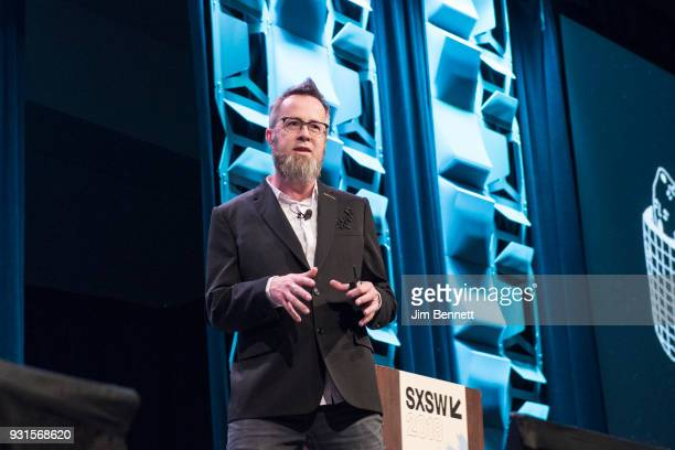 Strangeworks founder CEO whurley speaks during his SXSW Convergence Keynote session 'The Endless Impossibilities of Quantum Computing' on March 13...