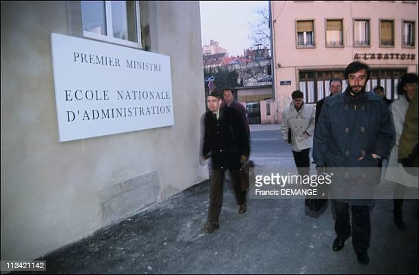 ENA'sTransfer To Strasbourg In The Commanderie SaintJean On January 04th 1993