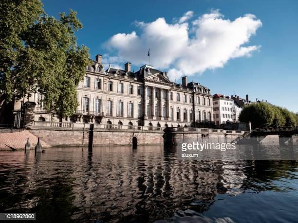 strasboug palais rohan france - strasbourg stock pictures, royalty-free photos & images