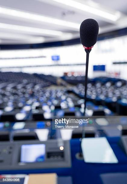 Strasbourg BasRhin Alsace France July 2 2014 Session of the European Parliament in Strasbourg