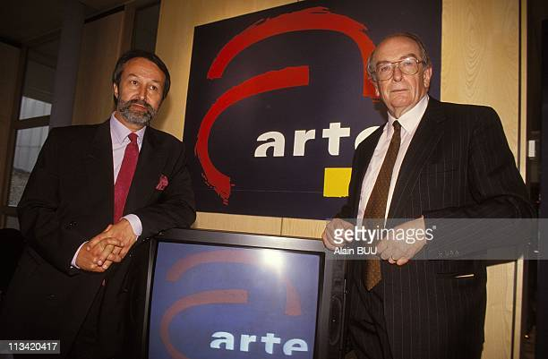 Strasbourg: Inauguration TV - 'Arte' On May 30th, 1992