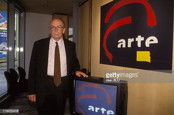Strasbourg: Inauguration TV channel 'Arte' On May 30th, 1992