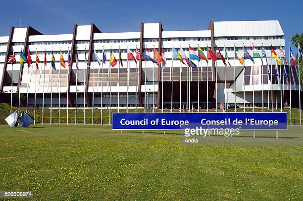The Palace of Europe, seat of the Council of Europe, in the EU institutions district.