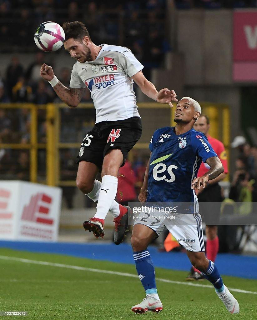 RC Strasbourg v Amiens SC - Ligue 1