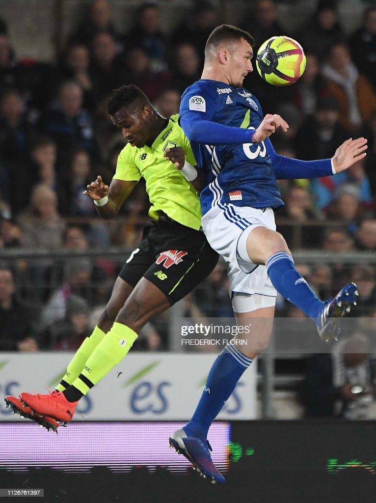 FRA: RC Strasbourg v Lille OSC - Ligue 1
