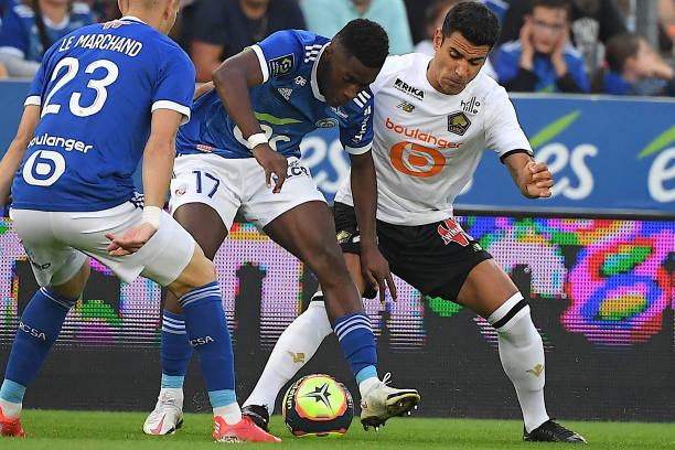 FRA: RC Strasbourg v Lille OSC - Ligue 1 Uber Eats