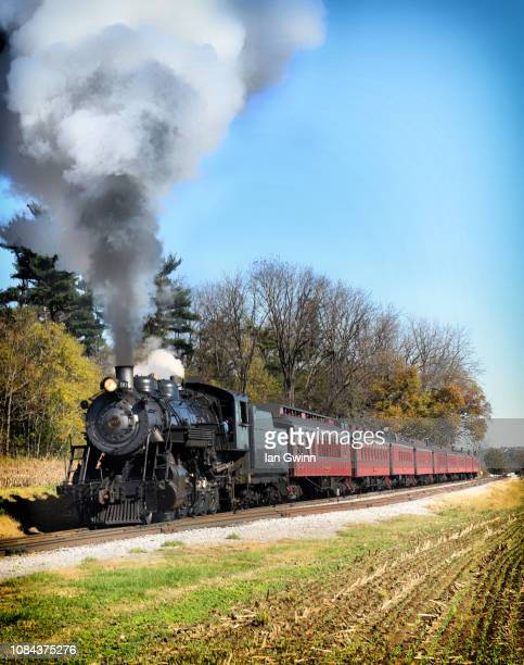 strasburg railroad_1 - ian gwinn stock photos and pictures
