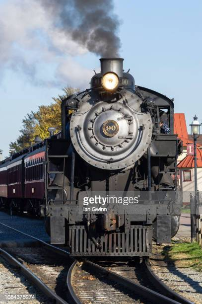 strasburg railroad_2 - ian gwinn stock photos and pictures