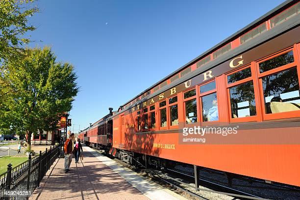 strasburg train station - lancaster pennsylvania stock pictures, royalty-free photos & images