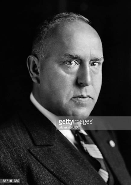 Strasser Gregor Politiker D Mitglied der NSDAP Portrait 1932