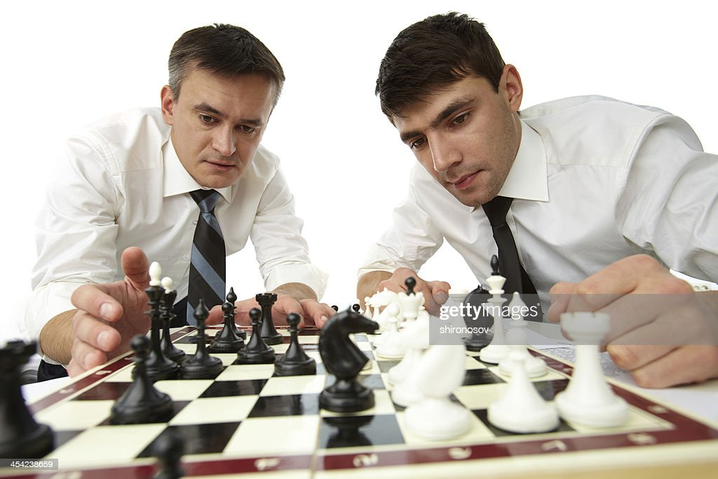 Strategic thinking : Stock Photo