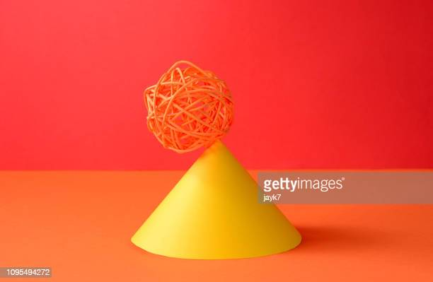 strategy - cone shaped objects stock pictures, royalty-free photos & images