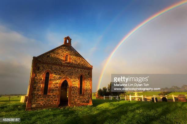 Strathalbyn Church Rainbow