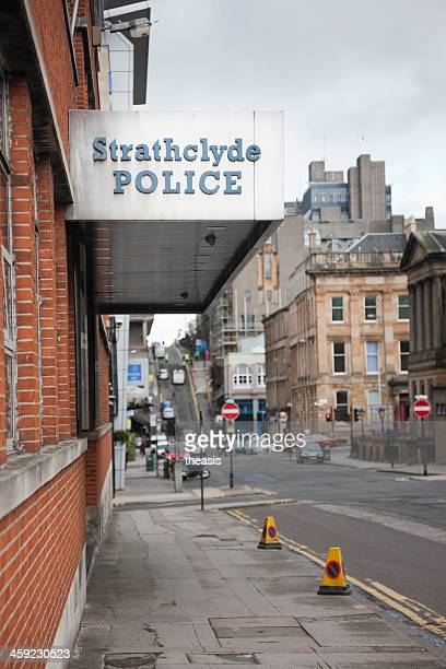 strathclyde police headquarters - theasis stock pictures, royalty-free photos & images