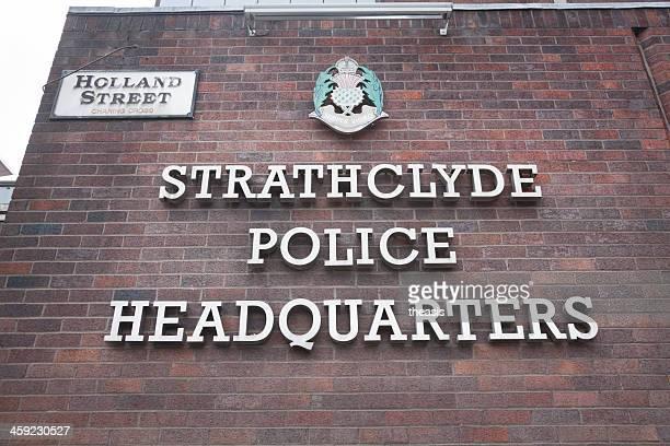 strathclyde sedi di polizia - theasis foto e immagini stock